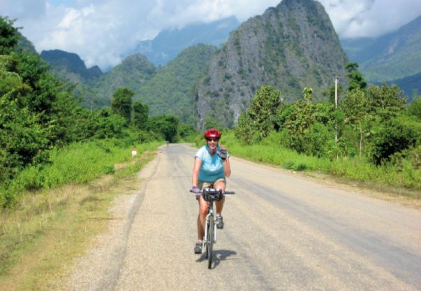 Cycle Laos on the Laos Custom Tour cycling tour