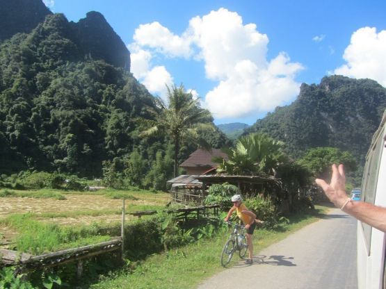 Explore redspokes' Laos: Northern Loop Bicycle Tour